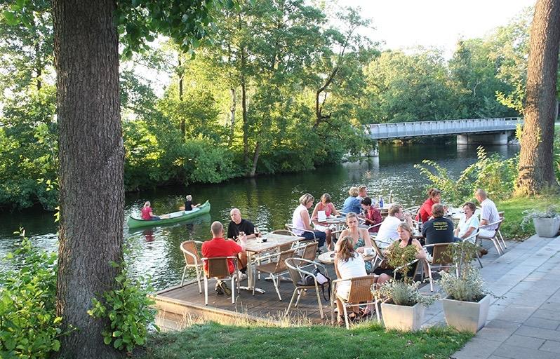 Cafestemning Gudenåen - Café Evald (1)